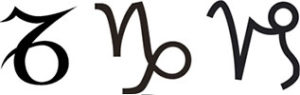 Символ Козерога